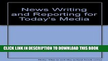 [PDF] News Writing and Reporting for Today s Media Full Colection