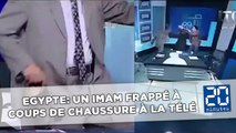 Un imam frappé à coups de chaussure sur la télévision égyptienne
