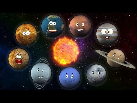 Песня про планеты   Planet Song