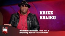"Krizz Kaliko - Memorable Sessions From ""Go"" And Comparing Myself To The Greats (247HH Exclusive) (247HH Exclusive)"