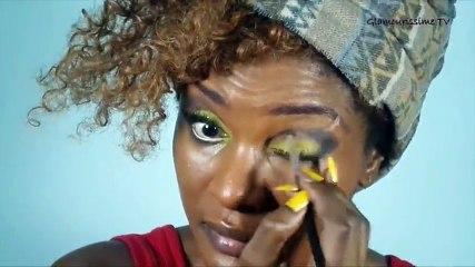 AFRICAN GLOWY 01 - Tutoriel Maquillage
