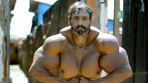 Bodybuilder's Supersized Fake Muscles Could Kill Him: HOOKED ON THE LOOK