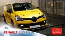 Renault Clio RS 16 en direct du Mondial de Paris 2016