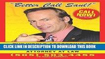 [Read PDF] Better Call Saul: The World According to Saul Goodman Ebook Free