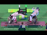 Day 9 evening | Wheelchair Fencing highlights | Rio 2016 Paralympic Games