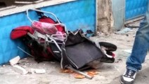 Kaldırıma Çıkan Araç, Çocuk Arabasına Çarptı: 1 Ölü, 4 Yaralı