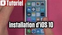 Tuto : comment installer iOS 10 depuis son iPhone