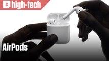 AirPods, le nouveau casque sans fil d'Apple