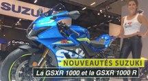 Intermot 2016 : Suzuki GSXR 1000 et la GSXR 1000 R