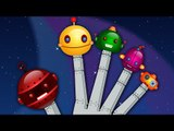 Finger Family - Robots | Nursery Rhymes For Kids, Babies, Toddlers And Children