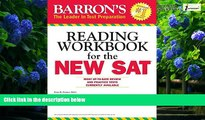 Big Deals  Barron s Reading Workbook for the NEW SAT (Critical Reading Workbook for the Sat)  Best