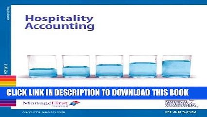 Collection Book ManageFirst: Hospitality Accounting with Online Testing Voucher (2nd Edition)