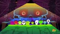 five naughty ghosts | halloween rhymes | scary song | nursery rhymes | kids songs