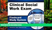 Deals in Books  Clinical Social Work Exam Flashcard Study System: ASWB Test Practice Questions