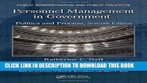 Collection Book Personnel Management in Government: Politics and Process, Seventh Edition (Public