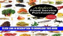 New Book Modern Food Service Purchasing: Business Essentials to Procurement