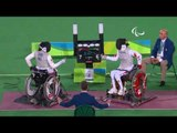 Wheelchair Fencing | Hong Kong, China v China Women's Foil Bronze Medal Match |