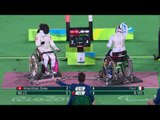 Wheelchair fencing | Italy v Hong Kong, China | Women's Foil Team Bronze | Rio 2016 Paralympic Games
