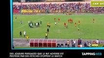 Des joueurs persuadés que le but adverse est protégé par des fétiches stoppent le match (vidéo)