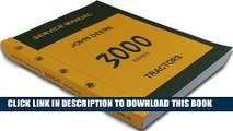 [PDF] John Deere 3000 Series 3020 3010 Tractors Technical Service Manual New Print 788 Pages