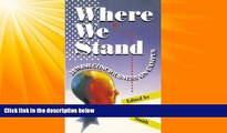 Enjoyed Read Where We Stand: Jewish Consciousness on Campus