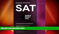 Must Have PDF  SAT Critical Reading Workbook (Advanced Practice Series) (Volume 4)  Best Seller