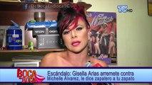 Gisella Arias arremete contra Michelle Álvarez, le dice zapatero a tu zapato