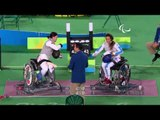 Day 9 morning | Wheelchair Fencing highlights | Rio 2016 Paralympic Games