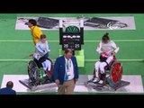 Wheelchair Fencing | China v Italy | Women's Foil Team Semifinal | Rio 2016 Paralympic Games