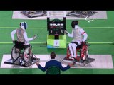 Wheelchair Fencing   France v Poland   Men's Team Foil - Semifinal    Rio 2016 Paralympic Games