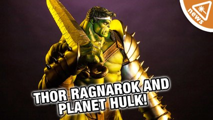 How New Thor Ragnarok Details Reveal Planet Hulk and More! (Nerdist News w/ Jessica Chobot)