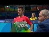 Table Tennis | TPE v TUR | Men's Team Semifinals Class 4/5 M2 | Rio 2016 Paralympic Games
