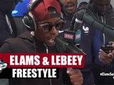 Elams et Lebeey en freestyle #PlanèteRap