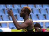 Athletics | Men's 400m - T47 Round 1 Heat 3 | Rio 2016 Paralympic Games