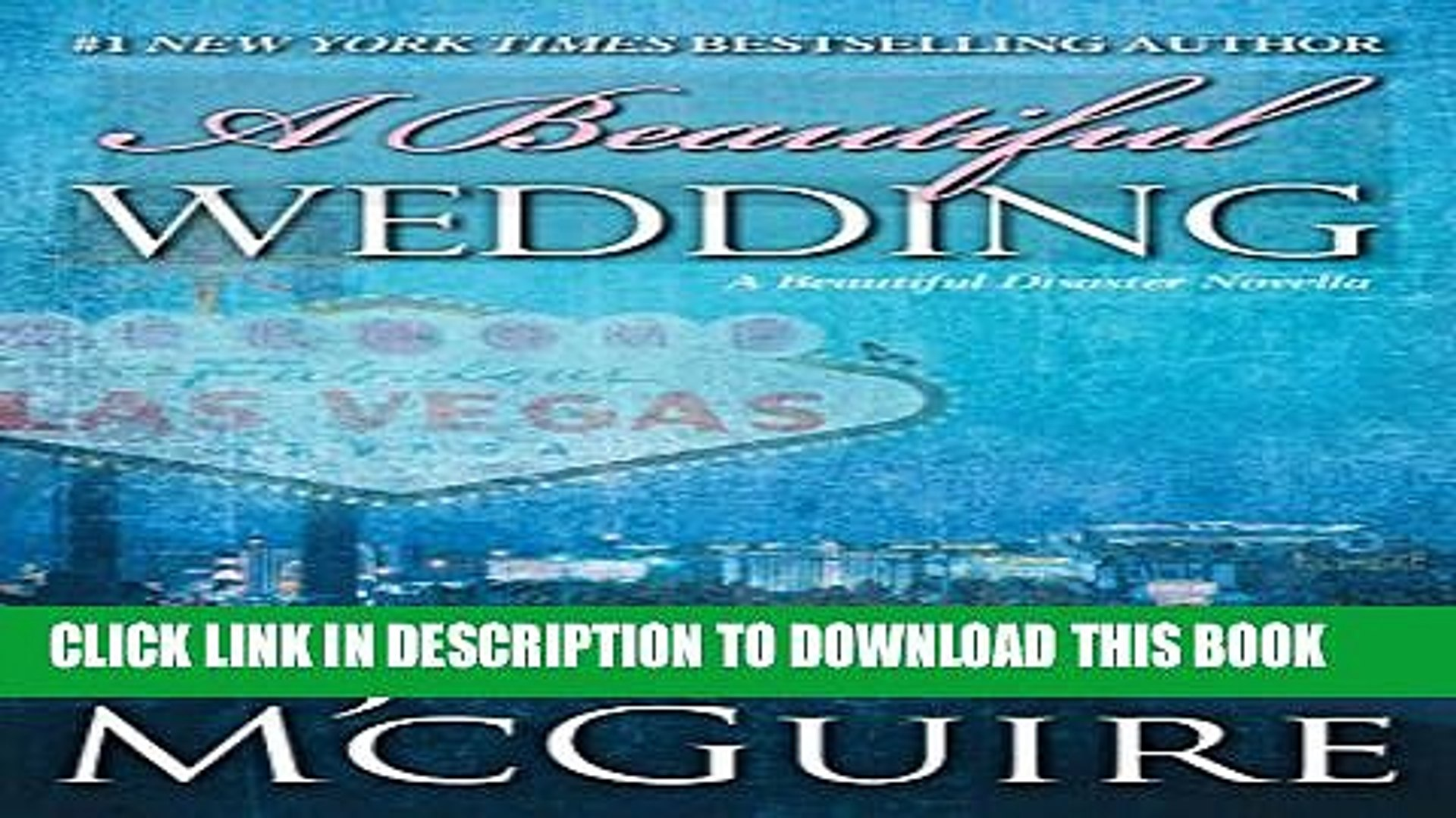 [PDF] A Beautiful Wedding: A Beautiful Disaster Novella (Beautiful Disaster Series) Full