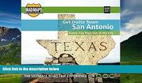Big Deals  MAD Maps - Get Outta Town Scenic Road Trips Map - San Antonio - GOTSAT1  Best Seller