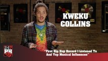 Kweku Collins - First Hip Hop Record I Listened To & Top Musical Influences (247HH Exclusive) (247HH Exclusive)
