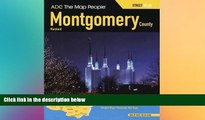 Big Deals  ADC The Map People Montgomery County, Maryland Atlas (Montgomery County (MD) Street Map