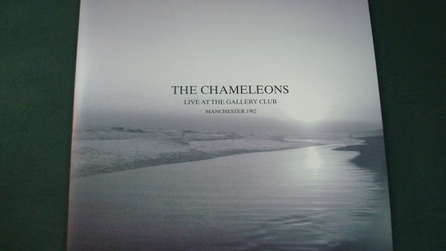 THE CHAMELEONS.''LIVE AT THE GALLERY CLUB MANCHESTER 1982.''.(VIEW FROM A HILL.)(12'' LP.)(2015.)