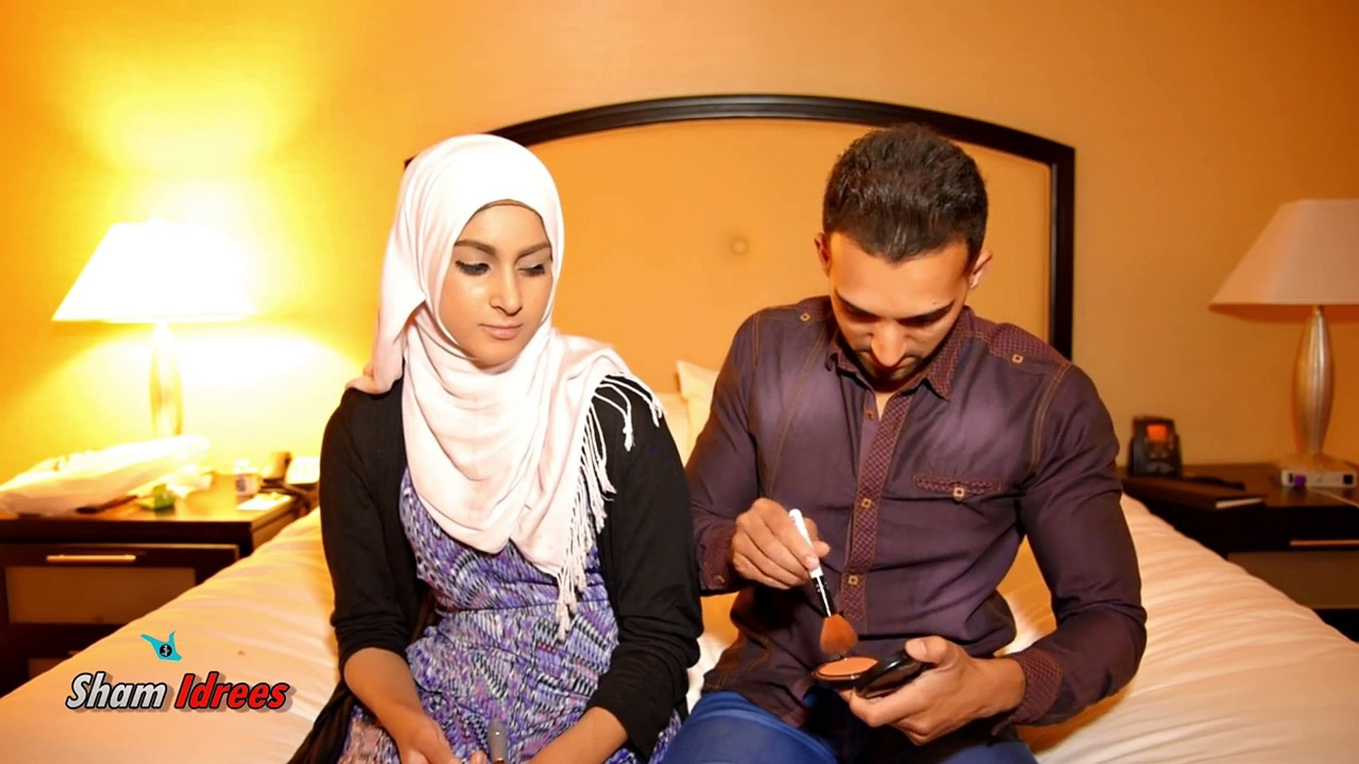 Sham Idrees Does Froggy S Makeup Video Dailymotion