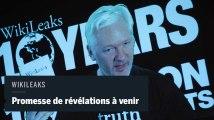 WikiLeaks promet des révélations sur les élections américaines