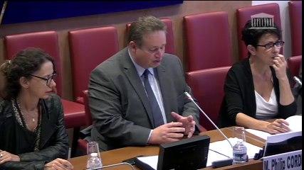 Présentation de mon rapport sur le salaire minimum européen en commission des affaires sociales de l'Assemblée nationale