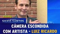 Câmeras Escondidas (31/01/16) - Câmera com Artista - Luiz Ricardo