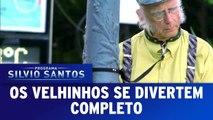 Programa Silvio Santos (02/10/16) - Os Velhinhos se Divertem