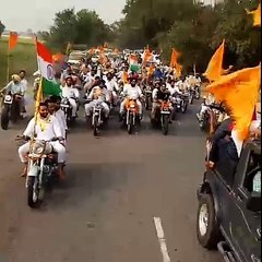 Buland Tiranga March by Bikram Majithia Mohali to Patiala (6)