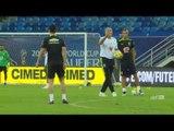 Wendell começa a se adaptar ao grupo da Seleção Brasileira