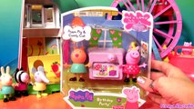 Play Doh Peppa Pig Birthday Party Peek n Surprise Playdough Birthday Cake DIY Disney Collector