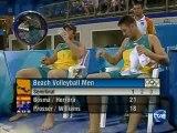 Beach Volley demi-finale JO Athènes 2004 Part2