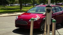 2017 Ford Focus Electric Charging Trailer