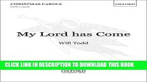 [PDF] My Lord has Come: Vocal score Popular Online